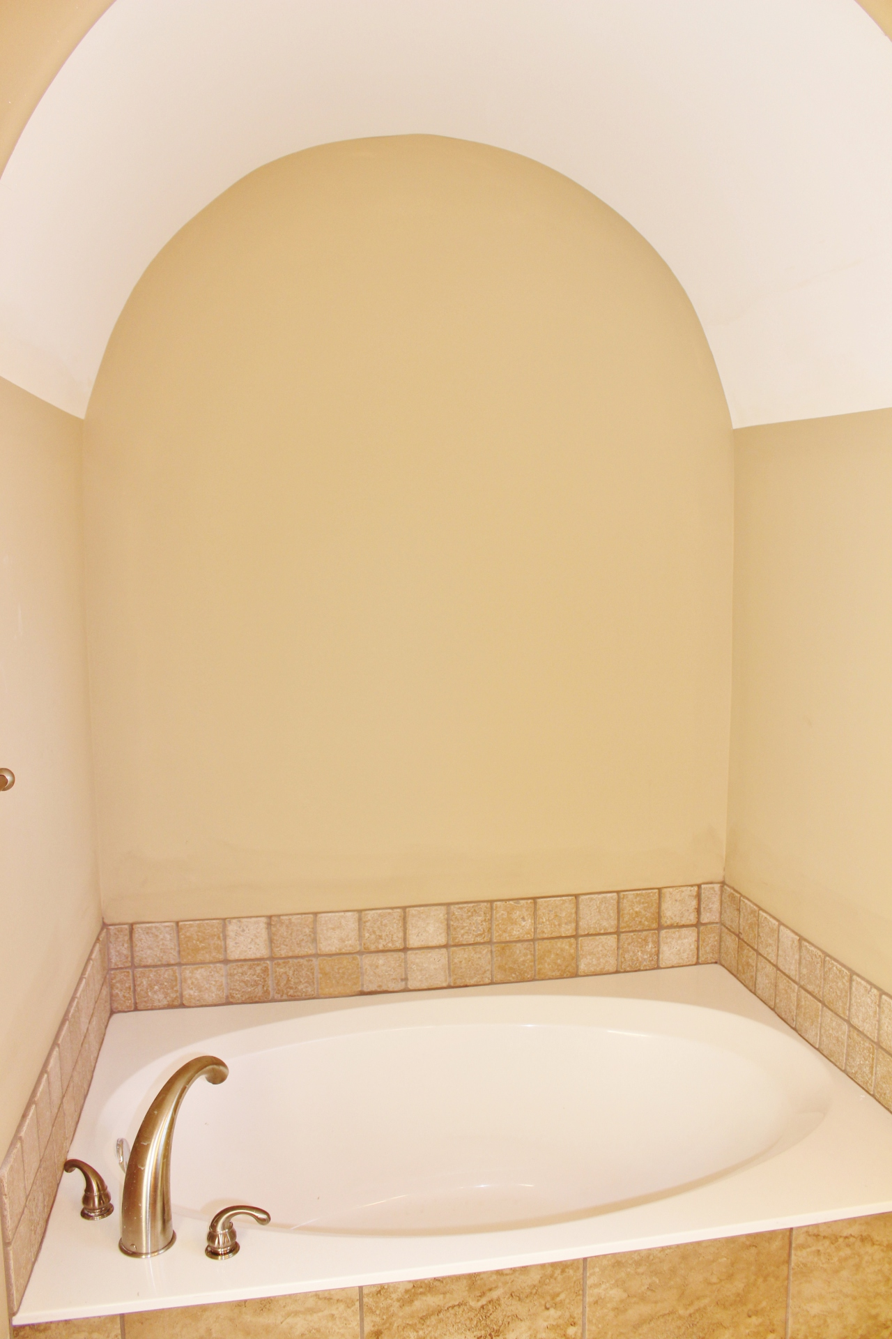 Garden Tub with Arch